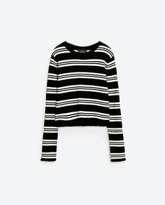 GATHERED SWEATER - View all-KNITWEAR-WOMAN | ZARA United States