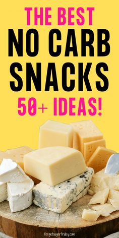 Looking for the best no carb snacks list? These delicious no carb snack ideas (both foods and recipes) will help you get your snack on! Sugar Free Snacks, Low Calorie Snacks, Sugar Free Recipes, Low Calorie Recipes, Ketogenic Recipes, Keto Snacks, Keto Recipes, Snack Recipes, Kitchen Recipes