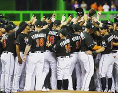 Playing a game as tribute to Fernandez just a couple days after his death.