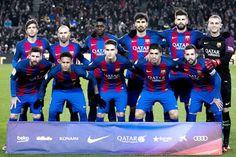 Equipos de fútbol: BARCELONA contra Real Sociedad 26/01/2017
