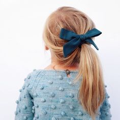 Exclusive // Jade Linen Oversized Schoolgirl Bow from Free Babes Handmade Little Girl Fashion, Toddler Fashion, Kids Fashion, Cute Outfits For Kids, Cute Kids, Misha And Puff, Baby Girl Hairstyles, Baby Hair Bows, Toddler Hair