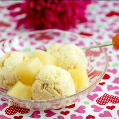 Ice Cream, Desserts, Food, Pineapple, Ice Candy, Tailgate Desserts, Gelato, Meal, Icecream Craft