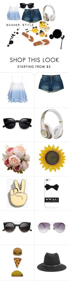 """""""Summer Style"""" by dylan1az ❤ liked on Polyvore featuring BLANKNYC, Beats by Dr. Dre, Madewell, Casetify, ZeroUV, Forever 21, Ankit, rag & bone, Charles Albert and beach"""