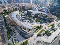 Торговый комплекс Parc Central в Гуанчжоу