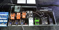 Pedalera de Billy Corgan (Smashing Pumpkins) - Pedales de guitarra