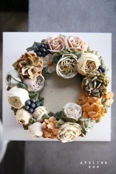 플라워케이크 : 청담 수케이크 / rose : flowercake : 네이버 블로그