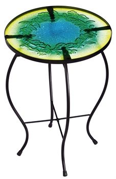 Evergreen glass table $59.95