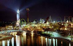 Orlando, Islands of Adventure at Night