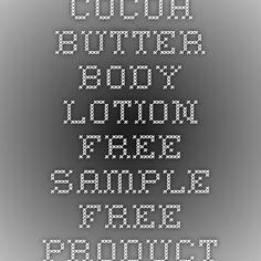 Nivea Cocoa Butter Body Lotion - Free Sample - Free Product Samples