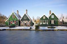 ARD VAN DER STEUR  Zaanse huisjes The Netherlands