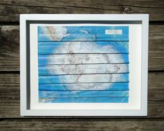 Stitched Map Art by yinsteadofi on Etsy