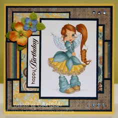 Creative Expressions: October 2012 ~ SC Whispy Fairy ~ colors not listed; Papers: MME