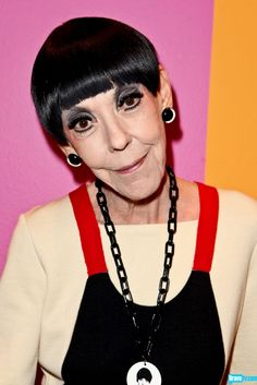 Peggy Moffitt.. what the hell lol