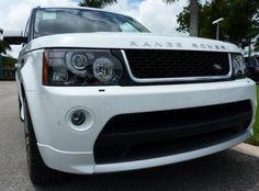 2013 Land Rover Range Rover Sport Supercharged, Fuji White, #LandRoverPalmBeach #LandRover #RangeRover http://www.landroverpalmbeach.com/