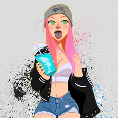 Bubblegum, Julio Cesar on ArtStation at https://www.artstation.com/artwork/bubblegum-7da90e28-3646-405f-a751-477c3b20d493