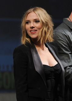 Scarlett Johansson Hair - keep coming back to this one