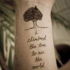 tatouage arbre poignet - Recherche Google