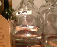 Making rum from scratch using molasses and sugar. I wanted to make some rum so that I could make my own Captain Morgans Spiced Rum you will need 1 x Homemade Alcohol, Homemade Liquor, Homemade Art, Brewing Recipes, Rum Recipes, Homemade Liqueur Recipes, Homebrew Recipes, Coffee Recipes, Gastronomia