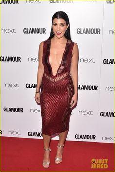 Kourtney Kardashian Wears Daring Dress at Glamour Women of the Year Awards 2016: Photo #3676022. Kourtney Kardashian shows off a lot of skin while walking the red carpet at the 2016 Glamour Women of the Year Awards on Tuesday (June 7) at Berkeley Square in London,…