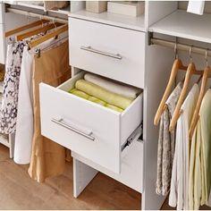 "ClosetMaid SuiteSymphony 84"" W - 120"" W Closet System & Reviews: maid | Wayfair"
