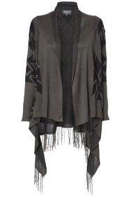Apricot Khaki & Black Aztec Open Cardigan http://www.apricotonline.co.uk/mall/productpage.cfm/womensclothing/_5051839147157/-/Khaki-%26amp%3B-Black-Aztec-Open-Cardigan