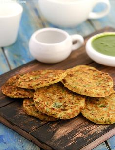 Mini Jowar Pancakes, add cucumber, onions, curds and green chillies to otherwise bland jowar flour to create soft and tasty pancakes Healthy Indian Snacks, Indian Food Recipes, Vegetarian Recipes, Snack Recipes, Cooking Recipes, Healthy Recipes, Celiac Recipes, Flour Recipes, Appetizer Recipes