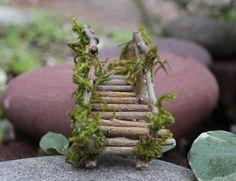 Miniature Bridge Fairy Garden Fairy Garden Bridge Fairy