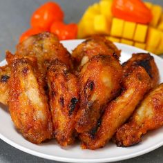 Spicy Mango Chicken Wings Recipe by Tasty