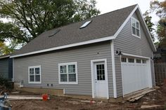 New 24'x34' Detached Garage with Attic Trusses - Page 3 - The Garage Journal Board