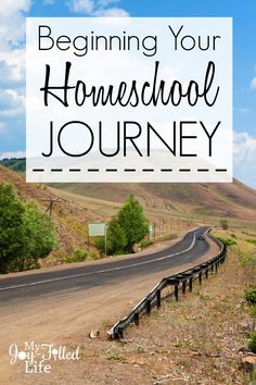 Beginning Your Homeschool Journey - this is a great read even if you are NOT a new homeschooler!