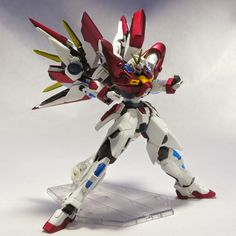 Custom Build: 1/144 Build Blazing Gundam - Gundam Kits Collection News and Reviews