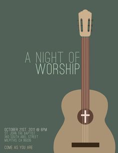 www.jessicanecor.com youth ministry music concert poster