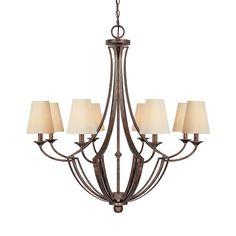 8 Light Chandelier   Capital Lighting Fixture Company