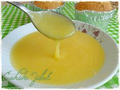 Lemon Sauce Recipe- There is a sauce that is very famous for foreigners. I watched a video for the first time. While they were not adding water, I diluted it in half. I would definitely recommend. It tastes just like l… Lemon Sauce, Lemon Curd, Lemon Cream, Italian Chicken Dishes, Italian Foods, Pudding Desserts, Food Picks, Appetizer Salads, Recipe Mix