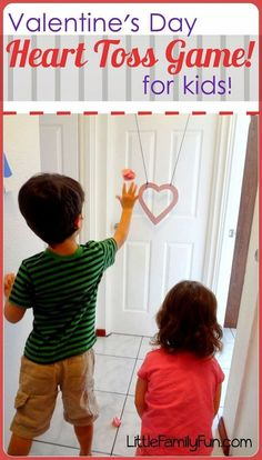 Fun and easy Valentine's Day Game for kids! Would be a great game for a Valentine's Day party. ♥