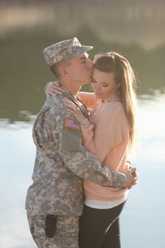 Military couple photography.   www.facebook.com/ashmariephotog