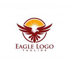 Creative eagle logo stock vector Premium Vector Luxury Business Cards, Elegant Business Cards, Lightning Logo, Eagle Images, Wall Logo, Fashion Logo Design, Luxury Logo, Retro, Logo Inspiration