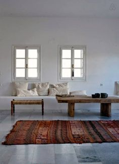The living room before renovation, will be very similar but with a different, larger couch