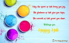 [Best Happy Holi 2020 Wishes msg in English, Holi images, Quotes Greetings