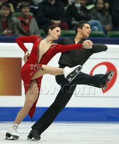 Tessa Virtue and Scott Moir, World Championships 2008 CD