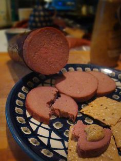 BRAUNSCHWEIGER (smoked liverwurst) with substituted chicken liver Jelly Recipes, Beef Recipes, Chicken Recipes, Braunschweiger Recipe, Liver Sausage, Gizzards Recipe, Sour Cream, Super Bowl
