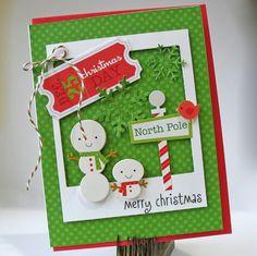 Christmas card handmade