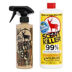 Wildlife Research Center® Super Charged® Scent Killer® 32 fl. oz. Scent Eliminator Combo