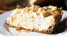 This Pineapple Dream Pie recipe truly DOES taste like a dream. Fluffy layers of cream cheese, pineapple and whipped cream plus a vanilla wafer crust. YUM.