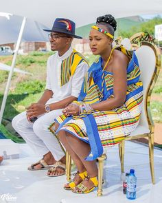 African Traditional Wedding Dress, African Wedding Dress, Venda Traditional Attire, Skirt Fashion, Fashion Outfits, African Fashion, African Style, Shweshwe Dresses, Wedding Attire