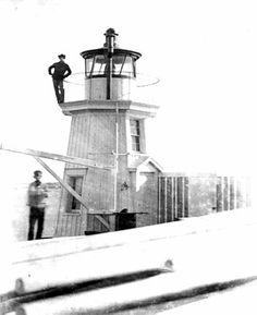 (1855) Portland Breakwater Light Tower - Portland, ME
