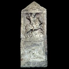 Tombstone of a Roman Cavalryman