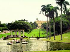 Park of the Nice View (Quinta da Boa Vista), Rio de Janeiro, Brazil