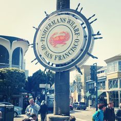 15 Fun Things To-Do in San Francisco: Fishermans Wharf Fisherman's Wharf San Francisco, Weekend In San Francisco, San Francisco Vacation, San Francisco Travel, Beautiful Places To Visit, Oh The Places You'll Go, California Travel, California Honeymoon, San Fransisco