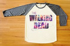 Hey, I found this really awesome Etsy listing at http://www.etsy.com/listing/155752707/galaxy-the-walking-dead-shirt-zombie